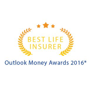 WINNER OF THE OUTLOOK MONEY AWARDS FOR THE 'BEST LIFE INSURER'
